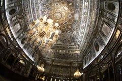 Het oude en mooie plafond royalty-vrije stock afbeeldingen