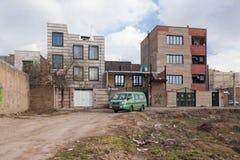 Het oude flatgebouw in Iran Royalty-vrije Stock Foto's
