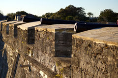 Het oude fort van kanonnen Royalty-vrije Stock Fotografie