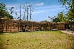 Het oude fort van Zhenjiangjiaoshan Royalty-vrije Stock Fotografie