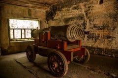 Het oude fort van Zhenjiangjiaoshan Royalty-vrije Stock Foto