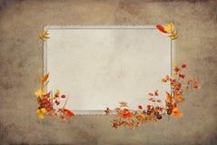 Het Oude Frame van de dankzegging Stock Afbeeldingen
