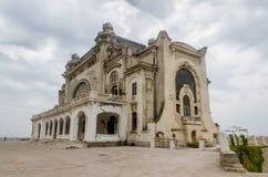 Het oude gebouw genoemd Cazino Royalty-vrije Stock Afbeeldingen