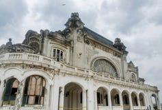 Het oude gebouw genoemd Cazino Royalty-vrije Stock Foto