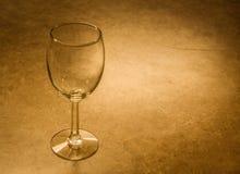 Het oude Glas van de Wijn stock foto