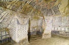 Het oude graf van Colombia stock afbeelding