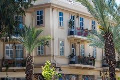 Het Oude Handelscentrum in Haifa Stock Afbeeldingen