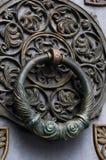 Het oude Handvat van de Deur van het Metaal Royalty-vrije Stock Afbeeldingen