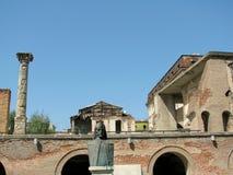 Het Oude Hof van Boekarest stock foto