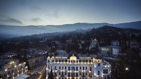 Het oude Hotel van de Stads Oude Luxe stock videobeelden