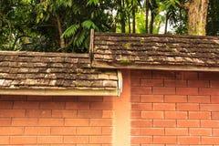 Het oude hout van dak Royalty-vrije Stock Foto's