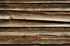 Het oude Houten Opruimen van de Schuur Stock Afbeeldingen