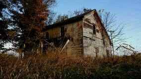 Het oude huis Stock Foto