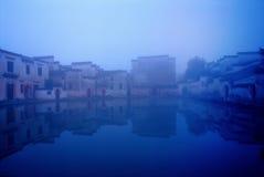 Het oude huis van China Stock Afbeeldingen