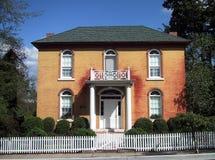 Het oude Huis van de Baksteen Stock Foto