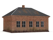 Het oude Huis van de Baksteen stock afbeelding