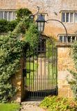 Het oude huis van de cotswoldsteen in Ilmington Royalty-vrije Stock Afbeeldingen