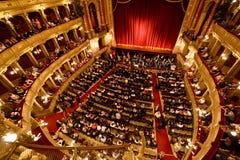 Het oude huis van de Opera van de staatsopera in Boedapest Royalty-vrije Stock Afbeelding