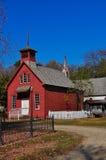 Het oude Huis van de School Stock Fotografie