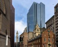 Het oude Huis van de Staat in Boston Royalty-vrije Stock Afbeeldingen