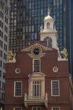 Het oude Huis van de Staat, Boston Stock Afbeeldingen