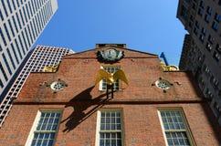 Het oude Huis van de Staat, Boston, doctorandus in de letteren, de V Stock Foto's