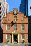 Het oude Huis van de Staat, Boston, doctorandus in de letteren, de V Stock Foto