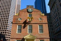 Het oude Huis van de Staat, Boston, doctorandus in de letteren, de V Stock Fotografie