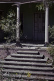 Het oude huis van de tribunesingang, Stock Afbeelding