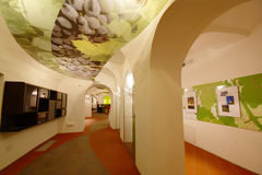 Het oude Huis van de Wijnstok op Geleend in Maribor Stock Foto's