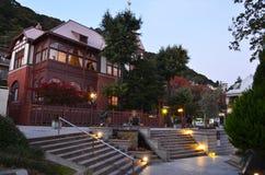 Het oude Huis van Europa in Kobe royalty-vrije stock foto's