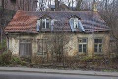 Het oude huis van het Dorp Stock Afbeeldingen