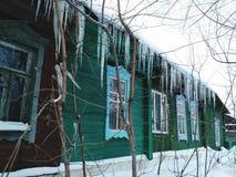Het oude huis van het Dorp Stock Foto
