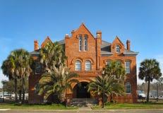 Het oude Huis van het Hof van de Provincie - FL van de Provincie Calhoun royalty-vrije stock foto