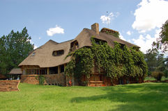 Het oude Huis van het Land van de Manor stock fotografie