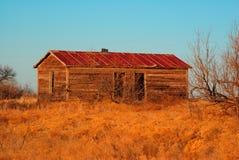 Het oude Huis van het Landbouwbedrijf Stock Foto's