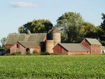 Het oude Huis van het Landbouwbedrijf Stock Fotografie