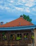 HET OUDE HUIS VAN STADSsarajevo Stock Afbeelding