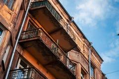 Het oude instorten inbouwend een stil gebied van de stad royalty-vrije stock foto