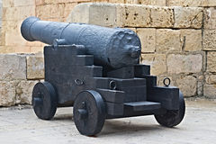 Het oude kanon Stock Foto