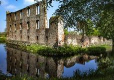 Het oude kasteel Royalty-vrije Stock Foto's