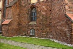 Het oude kasteel stock foto