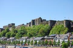 Het oude kasteel van de architectuurkoning Stock Afbeeldingen