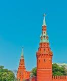 Het oude Kremlin in Moskou Royalty-vrije Stock Afbeeldingen