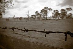 Het oude landbouwbedrijf Stock Fotografie