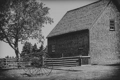 Het oude Landbouwbedrijf van de Tijd Royalty-vrije Stock Afbeeldingen