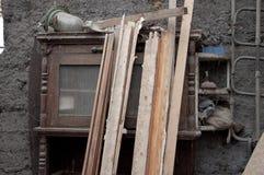 Het oude materiaal Stock Fotografie