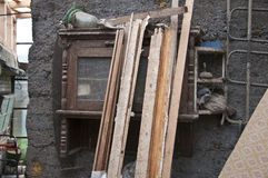 Het oude materiaal Stock Afbeelding