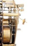 Het oude mechanisme van de klokpignon royalty-vrije stock afbeelding