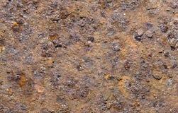 Het oude metaal van de textuurroest. royalty-vrije stock afbeelding
